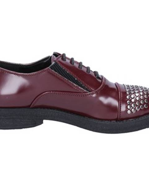 Bordové topánky Francescomilano