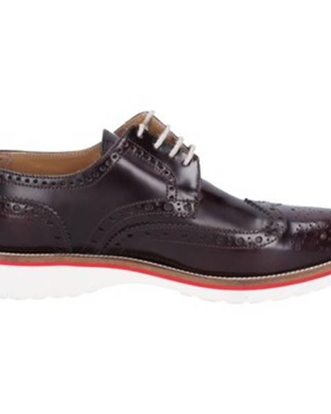 Bordové topánky Nicol Sadler