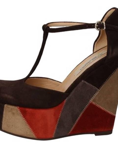 Hnedé sandále Gianni Marra