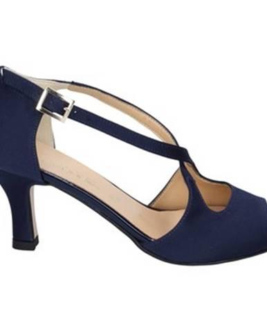 Modré sandále Olga Rubini