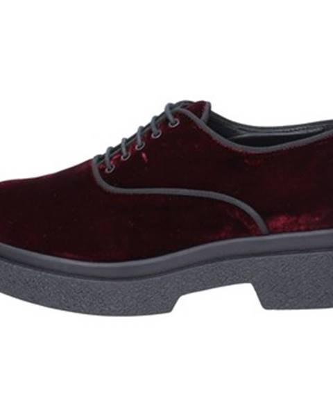 Bordové topánky Jeannot