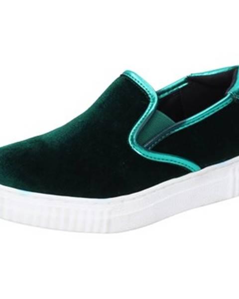 Zelené espadrilky Francescomilano