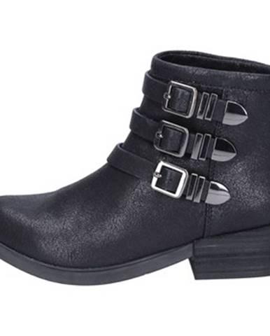 Čierne topánky Francescomilano