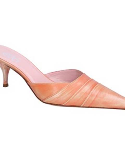 Oranžové sandále Gozzi Ego