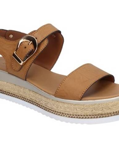 Hnedé sandále Sara