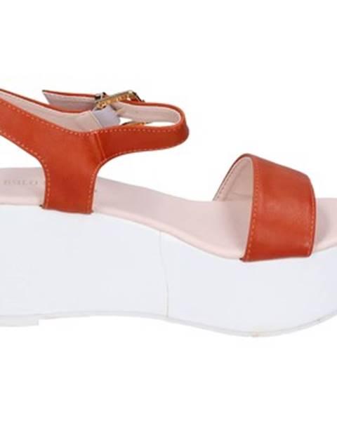 Oranžové sandále Solo Soprani