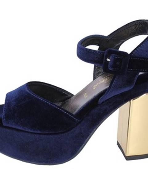 Modré sandále David Haron