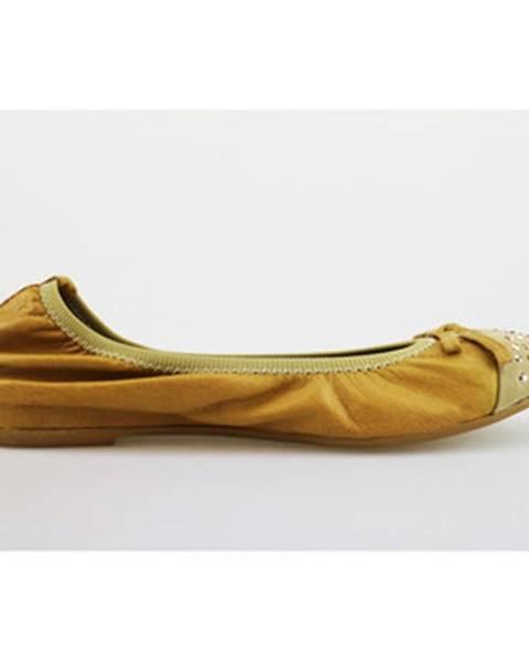 Hnedé balerínky Cruz
