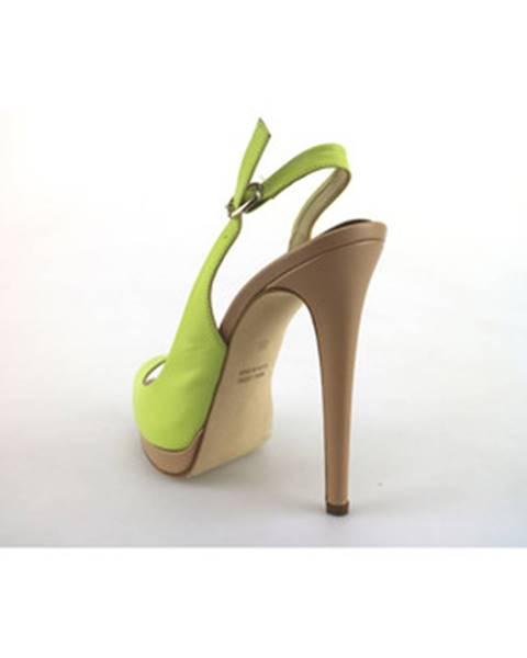 Zelené sandále Paul   Betty