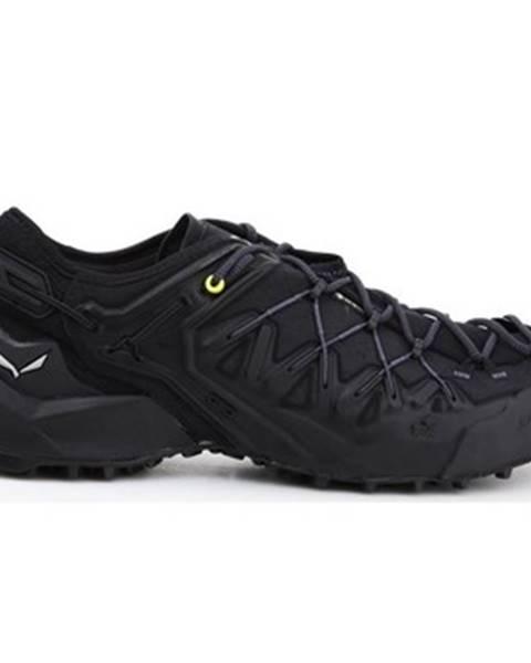 Čierne topánky Salewa