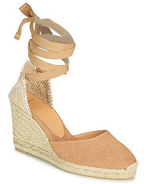 Hnedé sandále Castaner