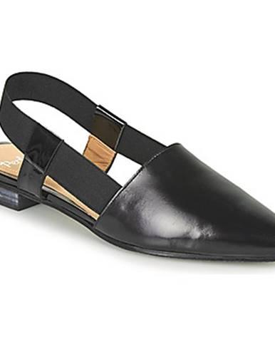 Čierne sandále Perlato
