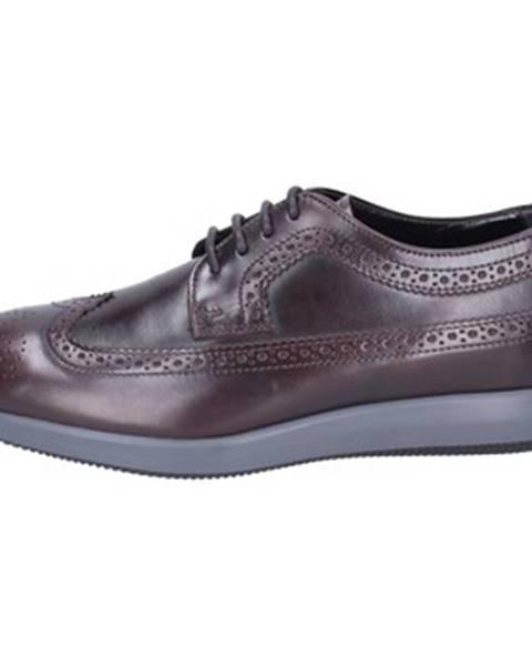 Bordové topánky Hogan