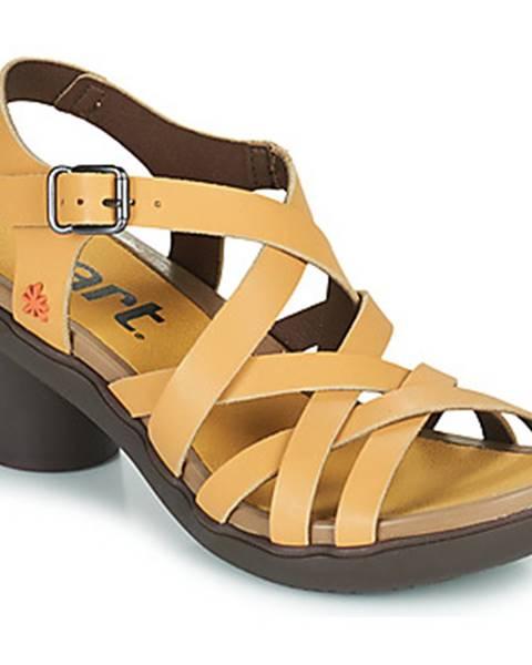 Béžové sandále Art