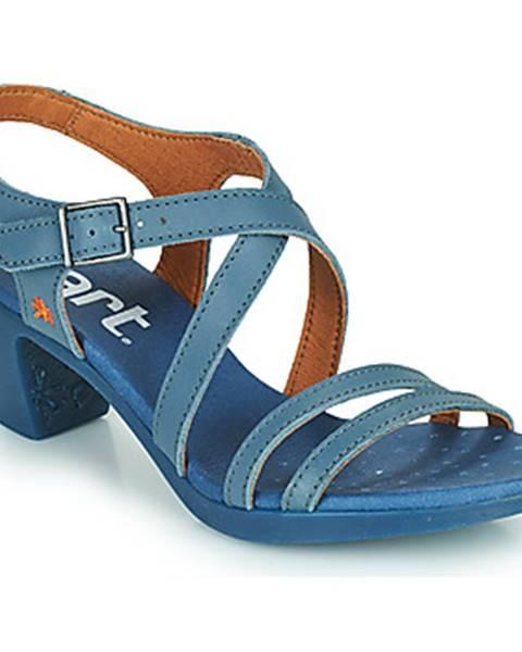 Modré sandále Art