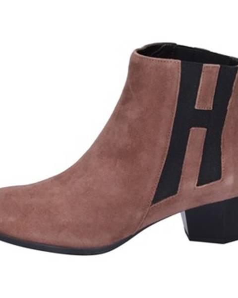 Hnedé topánky Hogan