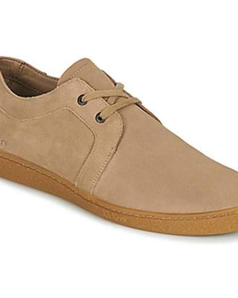 Béžové topánky Kickers