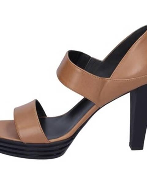 Hnedé sandále Hogan
