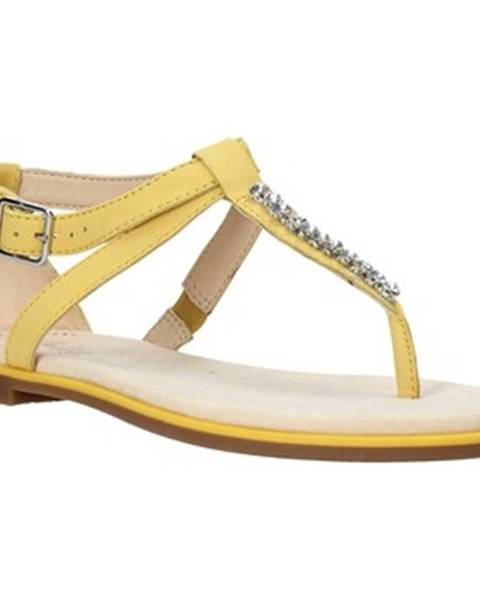 Žlté sandále Clarks