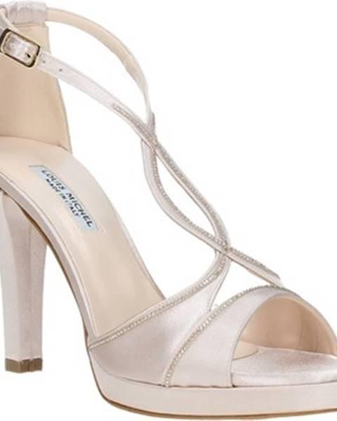 Ružové sandále Louis Michel