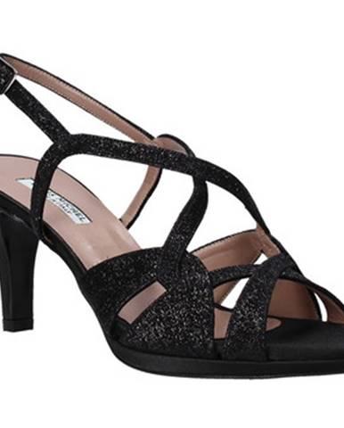 Čierne sandále Louis Michel