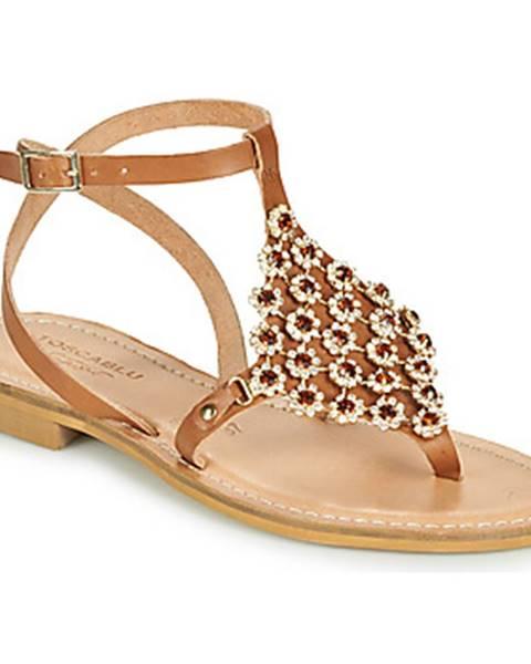 Hnedé sandále Tosca Blu