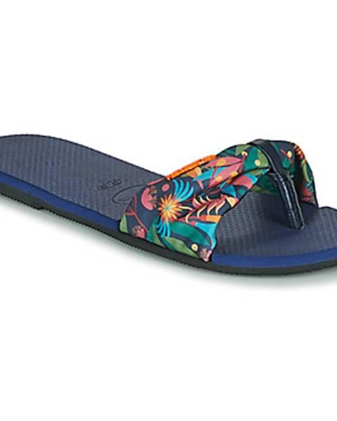 Modré topánky Havaianas