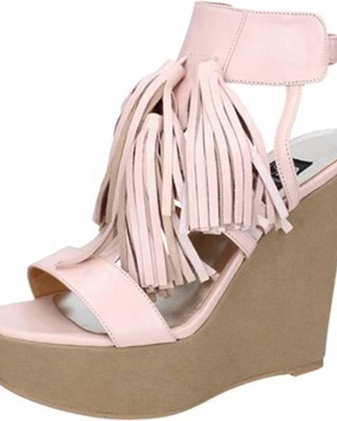 Ružové sandále Islo