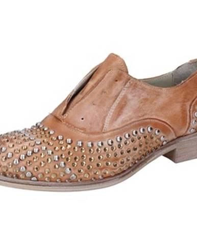 Hnedé topánky Onako