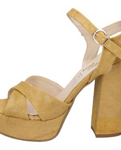Žlté sandále Geneve Shoes