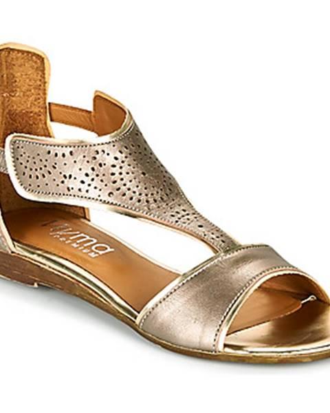 Hnedé sandále Myma