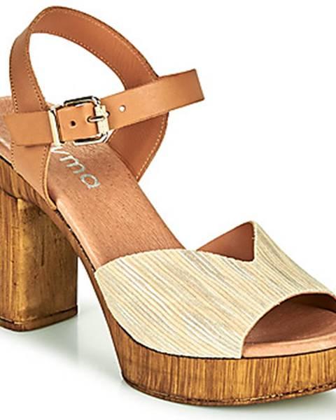 Béžové sandále Myma