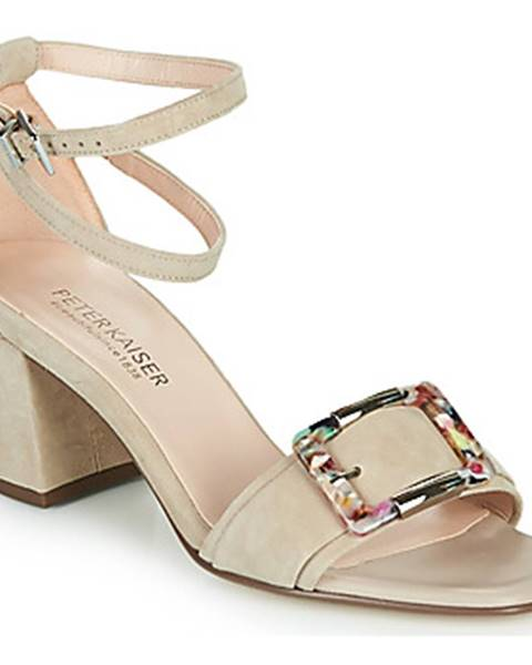 Béžové sandále Peter Kaiser