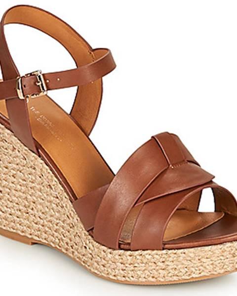 Hnedé sandále The Divine Factory