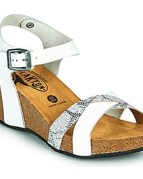 Biele sandále Plakton