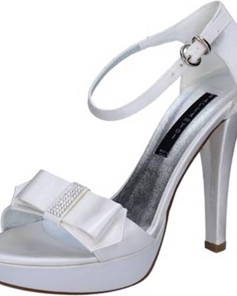 Biele sandále Bacta De Toi