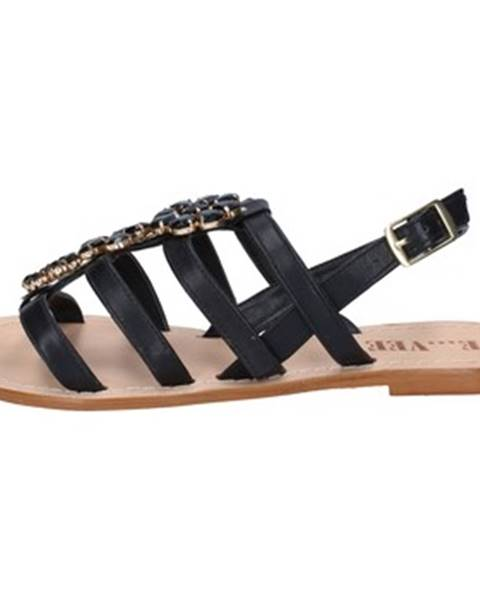 Čierne sandále E...vee