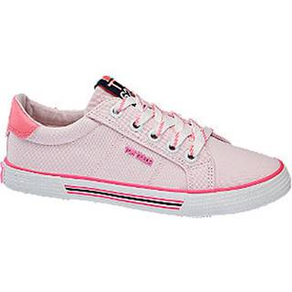 Ružové plátenné tenisky Tom Tailor