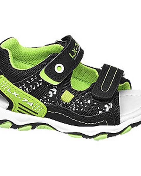 Zelené sandále Bobbi-Shoes