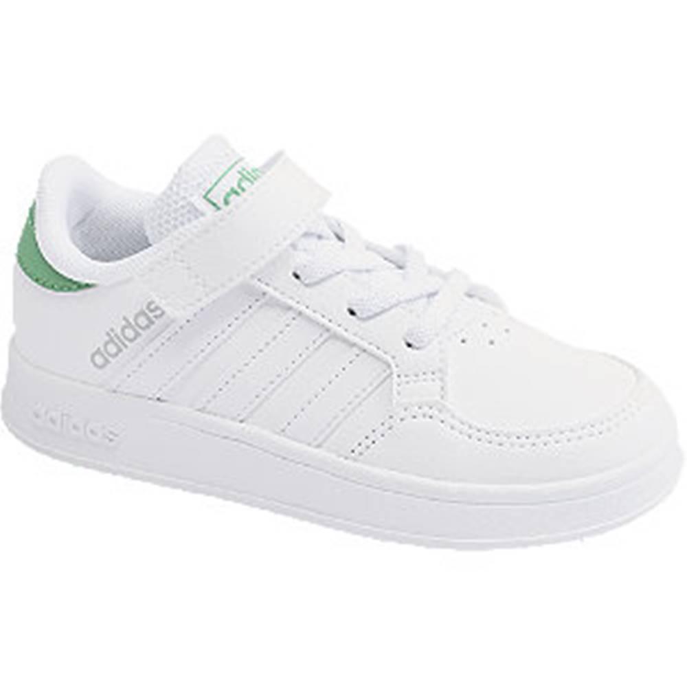 adidas Biele tenisky na suchý zips Adidas Breaknet C