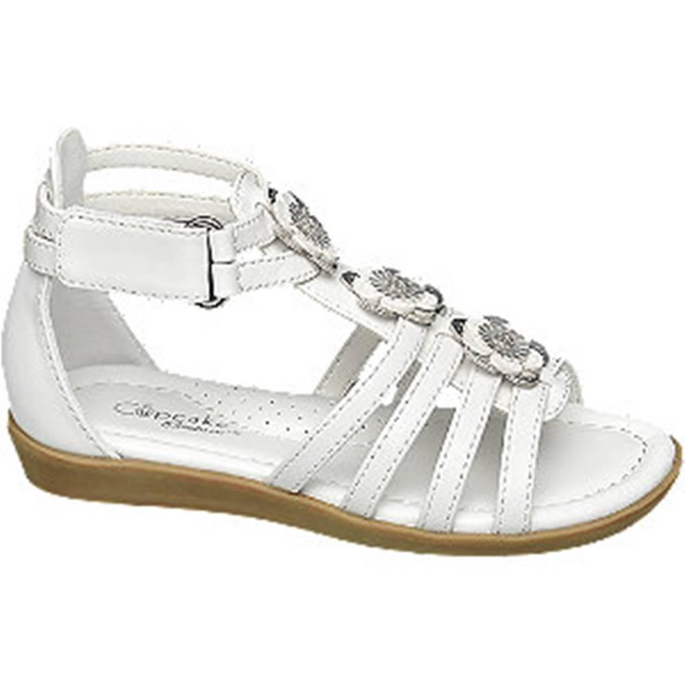Cupcake Couture Biele sandále Cupcake Couture