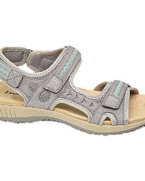 Sivé sandále Landrover