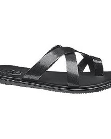 Čierne sandále AM SHOE