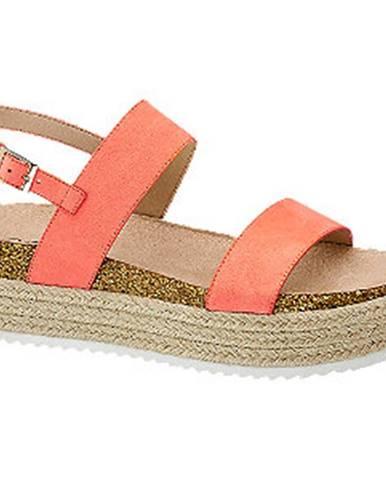 Ružové sandále Catwalk