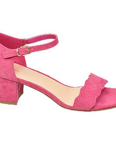 Ružové sandále Graceland