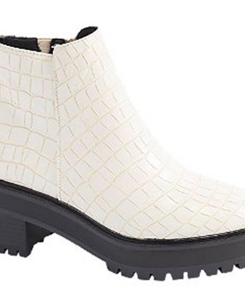 Biele čižmy Vero Moda