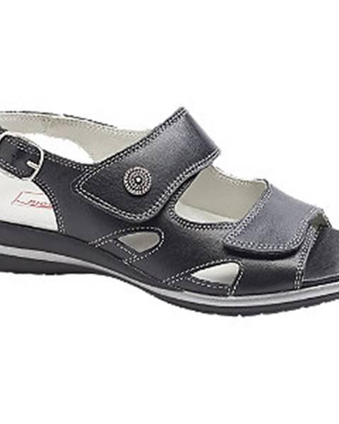 Čierne sandále Medicus