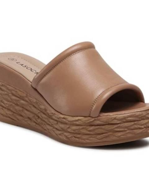 Béžové topánky Lasocki