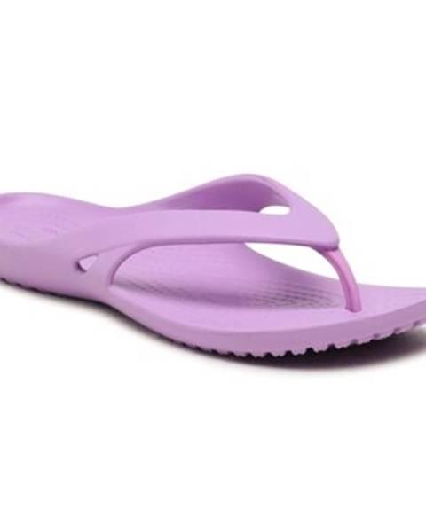 Fialové topánky Crocs