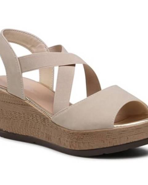 Béžové sandále Clara Barson